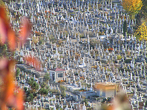 Cemetery Royalty Free Stock Images - Image: 1189