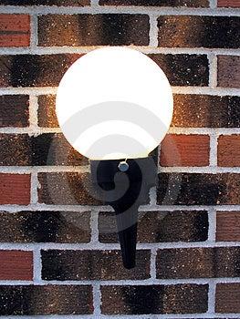 Domowa lampa Zdjęcia Stock