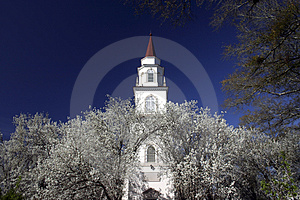 Fort Benning Chappel-1 Photographie stock libre de droits