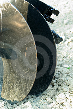 Auger Blade Royalty Free Stock Image - Image: 3306