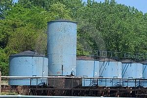 Storage Tanks Stock Photography - Image: 3572