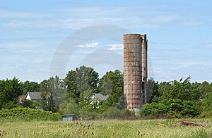 Abandoned Silo Royalty Free Stock Photo - Image: 4525