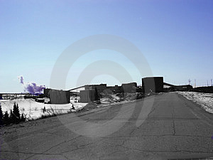 Industrial Work Site Royalty Free Stock Photography - Image: 4527