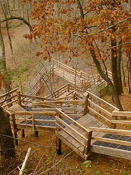 Autumn Staircase Stock Images - Image: 4714