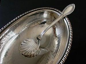 Silver Sugar-bowl Stock Images - Image: 4954