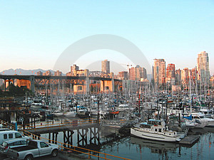 City Harbour Royalty Free Stock Images - Image: 5889