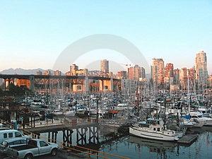 Porto da cidade Imagens de Stock Royalty Free