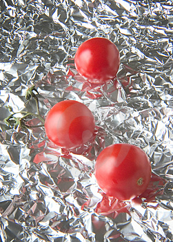 Tomatos Reflected Stock Images - Image: 6354