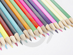 Colored Pencils 1 Royalty Free Stock Image