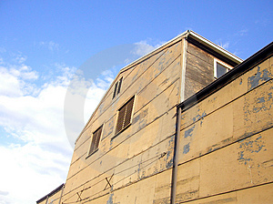 Aging Warehouse Royalty Free Stock Photography - Image: 6967