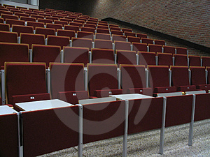 College Theatre III Royalty Free Stock Photos