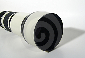 Telephoto Lense Royalty Free Stock Photos - Image: 7478
