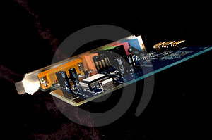 Sound Card Stock Image - Image: 7591