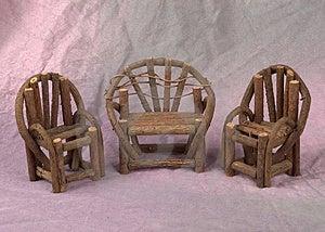 Miniature Porch Set Royalty Free Stock Image - Image: 7596