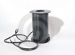 Black Ribbon Royalty Free Stock Image - Image: 7816