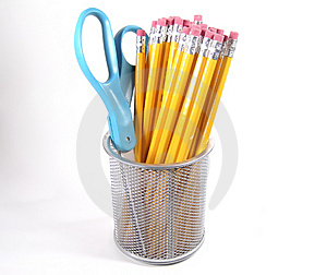 Scissor And Pencils Royalty Free Stock Image - Image: 7916