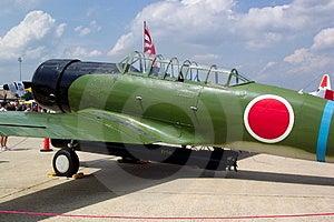 Nakajima bombowiec Torpedowa replika Zdjęcia Stock
