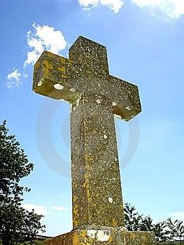 Churchyard Stone Stock Photo - Image: 8320