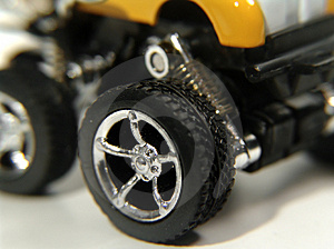 Toy Car Wheel Stock Images - Image: 8534