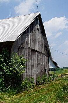 Maryland Country Barn Stock Photo - Image: 8730