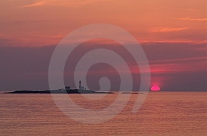 Red Sunset Royalty Free Stock Photo - Image: 8975