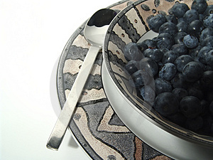 Plate And Berries Stock Photo - Image: 9150