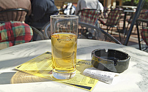A Quiet Drink Stock Photography - Image: 9192