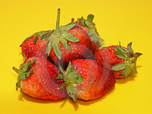 Fraises Photographie stock - Image: 9312
