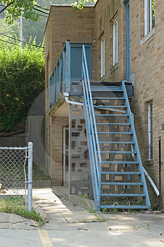 Blue Stairs Stock Image - Image: 9631