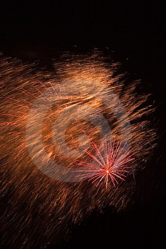 Fireworks Burst Stock Photo - Image: 9960
