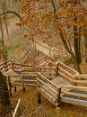 Autumn Staircase Stock Images