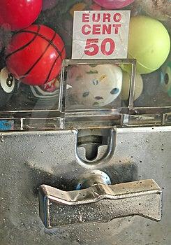 Game Balls Dispenser Royalty Free Stock Photos - Image: 10888