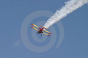 Воздушное налёт Стоковое Изображение RF