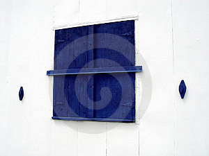 Blue Window Royalty Free Stock Images - Image: 11769