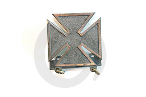 Marksmanship medal Obrazy Royalty Free