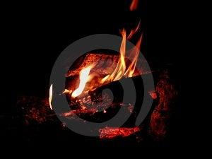 Πυρκαγιά 'Οικωών Στοκ φωτογραφίες με δικαίωμα ελεύθερης χρήσης
