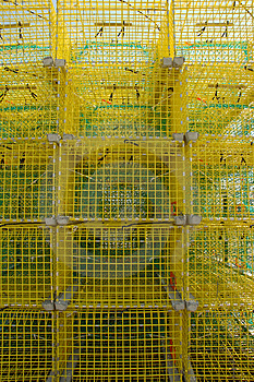 Lobster Traps Stock Photography - Image: 12262