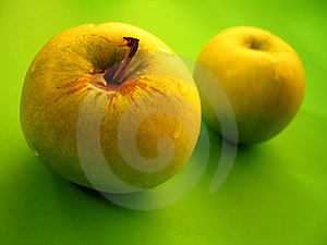 Two Apples Stock Photography - Image: 12482