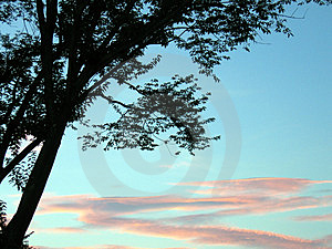 Red sunset stock photo. Image of shadow, wilderness, cloud - 12720