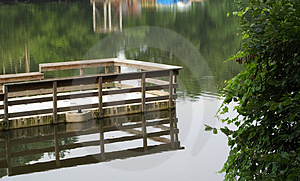 Fishing Dock Stock Photos - Image: 12823
