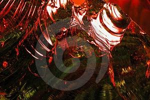 熔融态玻璃摘要14 库存照片