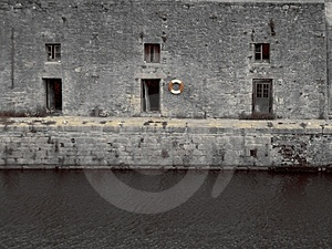 Old Style Harbour Royalty Free Stock Images - Image: 13359