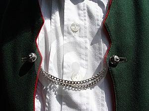 Bavarian Costume Waistcoat Royalty Free Stock Image - Image: 13636