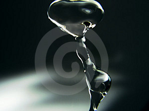 Blurred Drop Royalty Free Stock Photography - Image: 13707