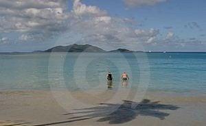 Playa Del Caribe Imagen de archivo libre de regalías - Imagen: 14456