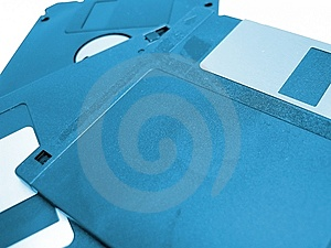 Floppy Disks Royalty Free Stock Photo - Image: 14605
