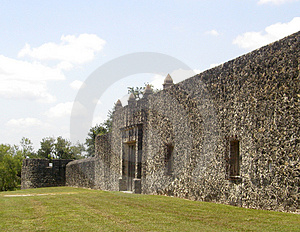 Mission Or Fortress? Royalty Free Stock Photos - Image: 15498