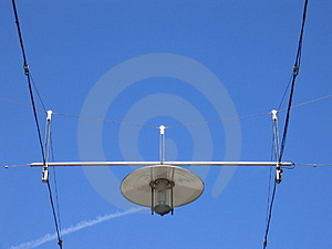Modern Street Lamp Royalty Free Stock Images - Image: 15659