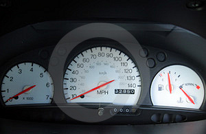 Car Dials Royalty Free Stock Photography - Image: 15957