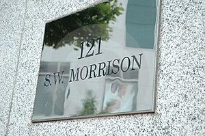 121 SW Morrison Royalty Free Stock Photos